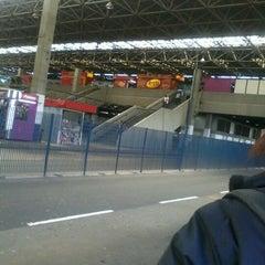 Photo taken at Terminal Santo Amaro by Marcos D. on 5/24/2012