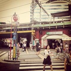 Photo taken at 有楽町駅 (Yūrakuchō Sta.) by Masashi I. on 9/1/2012