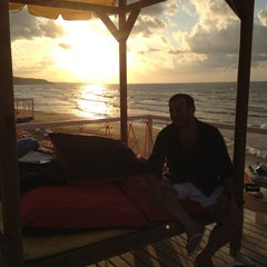 Photo taken at Solar Beach by Ulvi on 7/31/2012