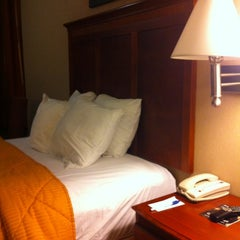Photo taken at Comfort Inn by David J. on 3/12/2012