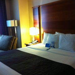 Photo taken at Fairfield Inn & Suites New York Manhattan/Times Square by Kathy S. on 7/5/2012
