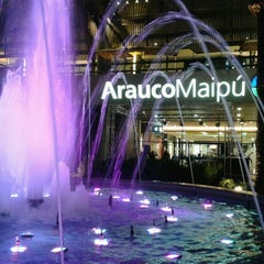Photo taken at Mall Arauco Maipú by rocio v. on 6/23/2012
