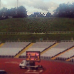 Photo taken at Don Valley Stadium by Mark I. on 8/27/2012