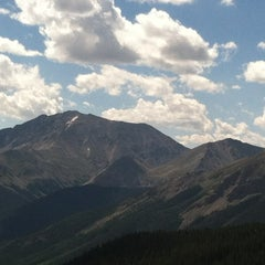 Photo taken at Independence Pass by Elizabeth D. on 7/21/2012