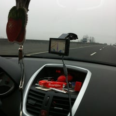 Photo taken at Autostrada A13 by Benedetta Lili M. on 3/17/2012