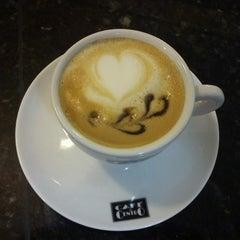 Photo taken at Café Petit by Sae K. on 7/2/2012