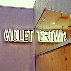 Photo taken at Violet Crown Cinema by Geoff D. on 8/29/2012