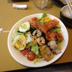 Photo taken at Tsuru Sushi all'Osteria by Armando D. on 5/12/2012