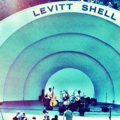 Photo taken at Levitt Shell by Brandi C. on 6/16/2012
