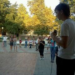 Photo taken at Кинотеатр Октябрь by Андрэв on 8/18/2012