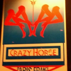 Photo taken at Crazy Horse Paris Theater by Tom L. on 4/14/2012