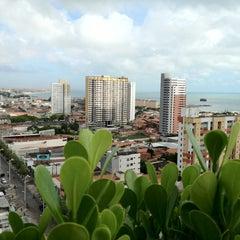 Photo taken at Praia Centro Hotel Fortaleza by Roberto M. on 5/29/2012
