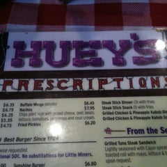 Photo taken at Huey's Restaurant by Daniel T. on 6/26/2012