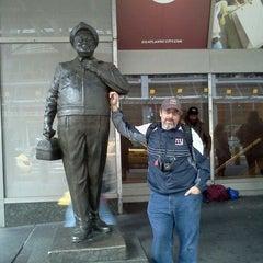 Photo taken at Ralph Kramden Statue by Wizard R. on 4/22/2012