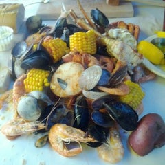 Photo taken at The Crab Pot by Calvina M. on 2/20/2012