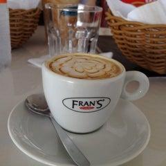 Photo taken at Fran's Café by Liduina G. on 7/9/2012