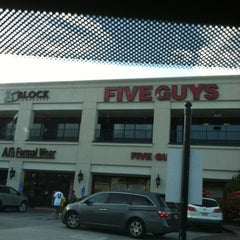 Photo taken at Five Guys by Nechelle M. on 9/2/2012