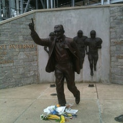 Photo taken at Joe Paterno Statue by Neil R. on 7/14/2012