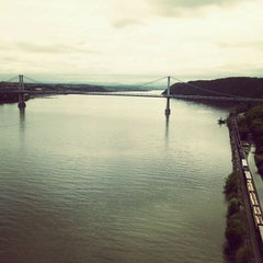 Photo taken at Walkway Over the Hudson State Historic Park by Nick B. on 5/9/2012