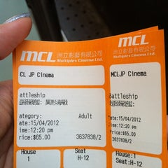 Photo taken at MCL JP Cinema 銅鑼灣戲院 by susie k. on 4/15/2012