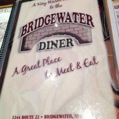 Photo taken at Bridgewater Diner by Gianani P. on 5/2/2012