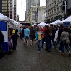 Photo taken at Granville Mall by Marlon N. on 6/30/2012