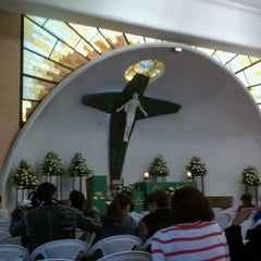Photo taken at Parroquia Sta. María Madre de la Misericordia by Emilio S. on 7/22/2012