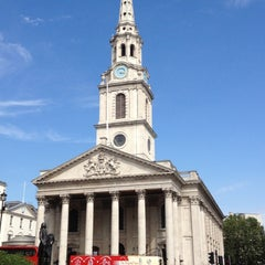 Photo taken at St Martin-in-the-Fields by Iain S. on 8/18/2012