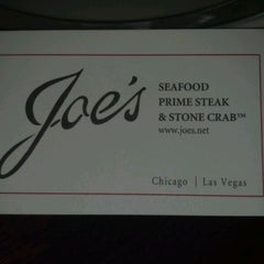 Photo taken at Joe's Seafood, Prime Steak & Stone Crab by Henry L. on 6/9/2012