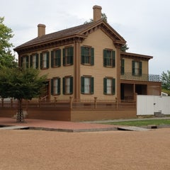 Photo taken at Lincoln Home National Historic Site by Kelli B. on 7/28/2012