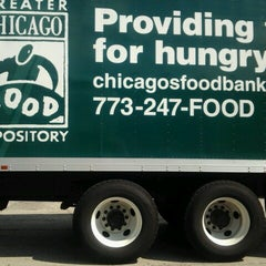 Photo taken at Greater Chicago Food Depository by Catrina T. on 7/20/2012