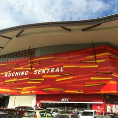 Photo taken at Kuching Sentral by Ahmad Lutfi A. on 7/15/2012