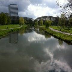 Photo taken at Lodewijk Napoleonplantsoen by Kelly P. on 4/24/2012