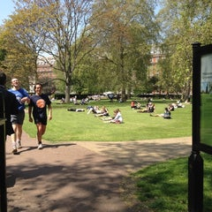 Photo taken at Grosvenor Square by Helen P. on 5/22/2012