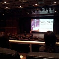 Photo taken at 씨네코드 선재 (CineCode Sonje) by JeongYoon C. on 3/28/2012