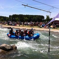 Photo taken at U.S. National Whitewater Center by Gilberto /. on 6/16/2012