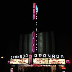 Photo taken at Granada Theater by Kevin T. on 3/19/2012