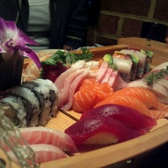 Photo taken at Umi Japanese Fine Dining by Jordan S. on 2/9/2012