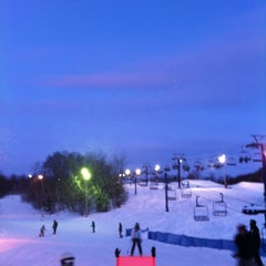 Photo taken at Camp Fortune by John L. on 2/25/2012