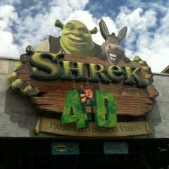 Photo taken at Shrek 4-D by Adrian S. on 8/11/2012