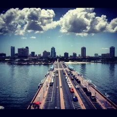 Photo taken at St. Petersburg Pier by Gabriel P. on 7/7/2012