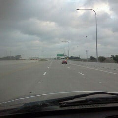 Photo taken at President George Bush Turnpike (PGBT) by Matt H. on 4/28/2012