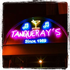 Photo taken at Tanqueray's Bar & Grille by Kathy M. on 8/17/2012