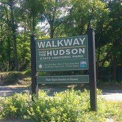 Photo taken at Walkway Over the Hudson State Historic Park by Sharley M. on 6/15/2012