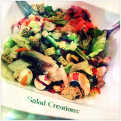 Photo taken at Salad Creations by Rafaela C. on 4/2/2012
