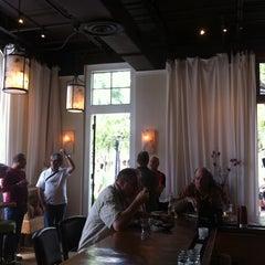 Photo taken at Leaf Cafe & Bar by Kevin M. on 5/26/2012