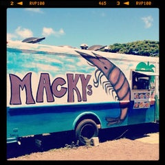 Photo taken at Macky's Shrimp Truck by dragonfish001. on 8/11/2012