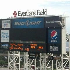 Photo taken at EverBank Field by Warren W. on 8/30/2012