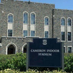 Photo taken at Cameron Indoor Stadium by Tim S. on 8/12/2012