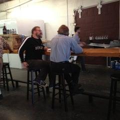 Photo taken at Wingman Brewers by Dan R. on 6/8/2012